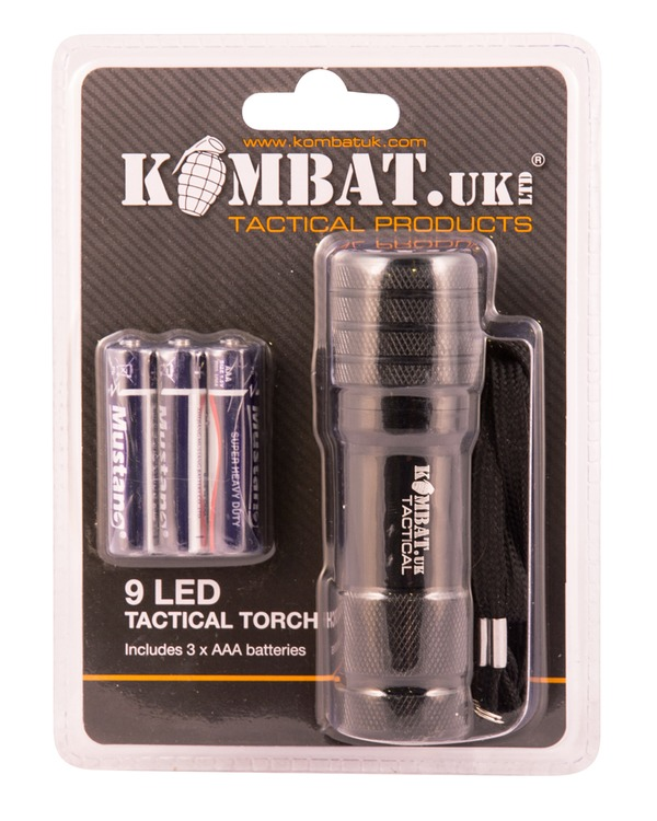 9 Led Tactical Torch Uk Forces Direct