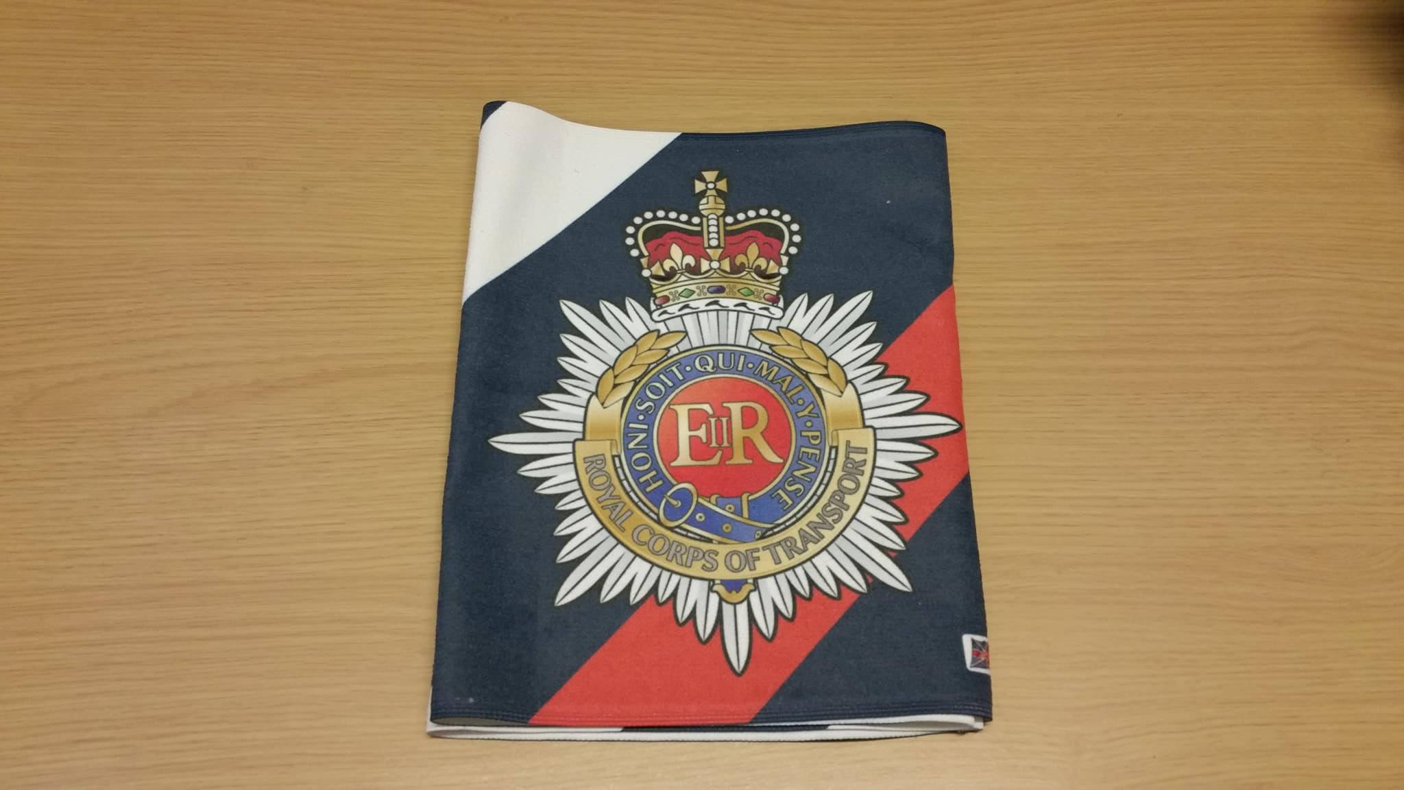 Royal Corps Of Transport Gym Sweat Towels Uk Forces Direct