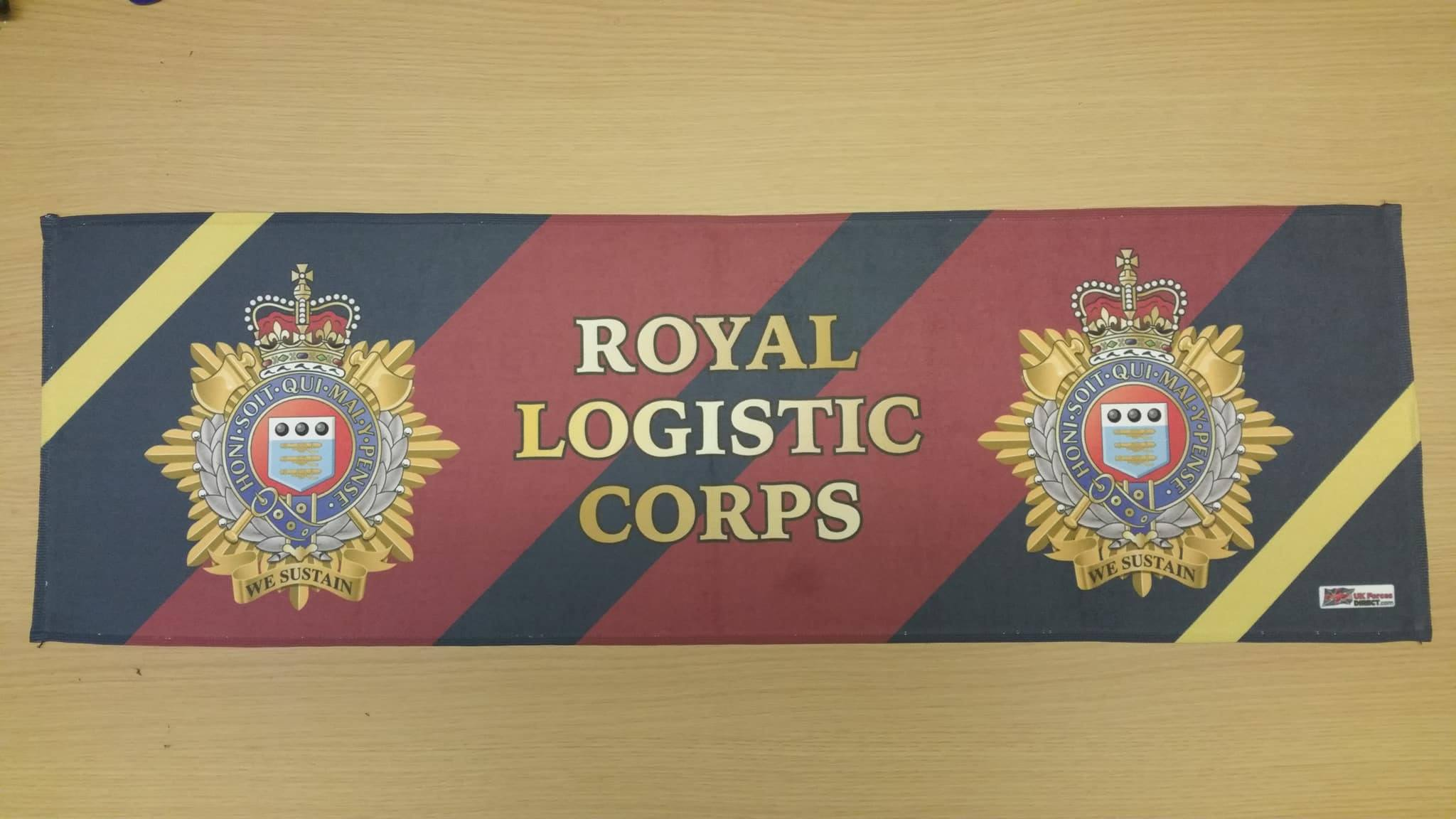 Royal Logistic Corps Gym Sweat Towels Uk Forces Direct
