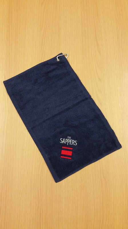 Embroidered Personalised Golf Towels Uk Forces Direct