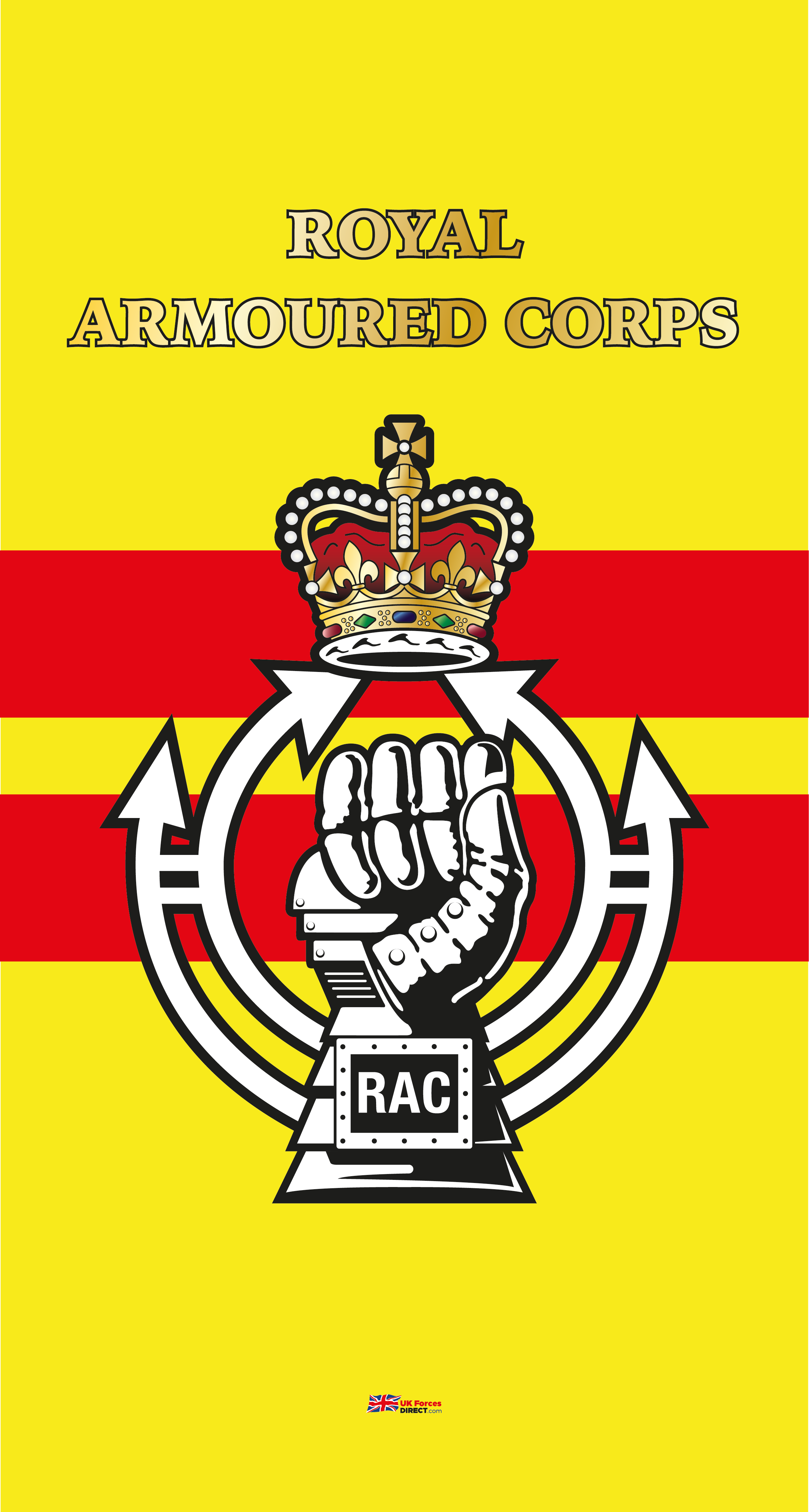 Royal Armoured Corps Beach Towel Uk Forces Direct