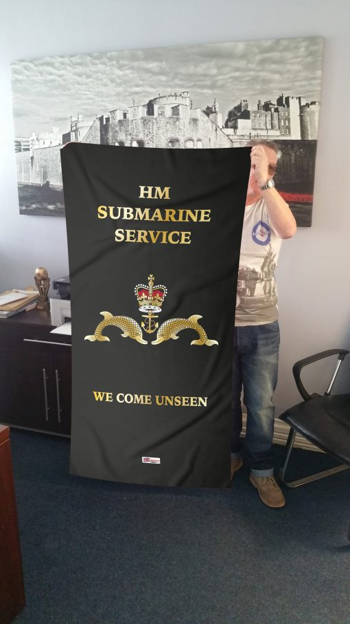HM SUBMARINE ANY CRESTED Embroidered Polo Shirts