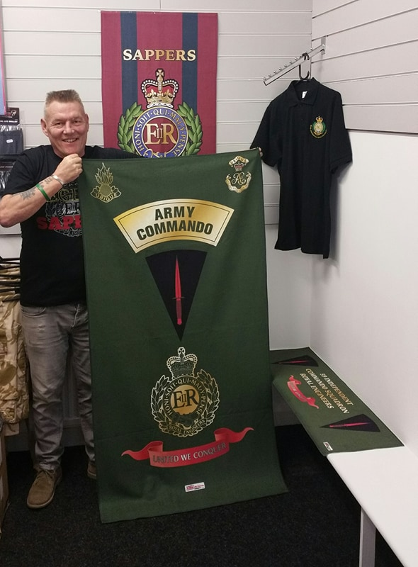 Royal Engineers Commando Beach Towel Uk Forces Direct