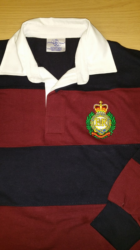 Corps Of Royal Engineers Original Rugby Shirt Uk Forces
