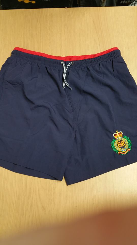 f3ac43db98 Custom Embroidered Swim Shorts - UK Forces Direct
